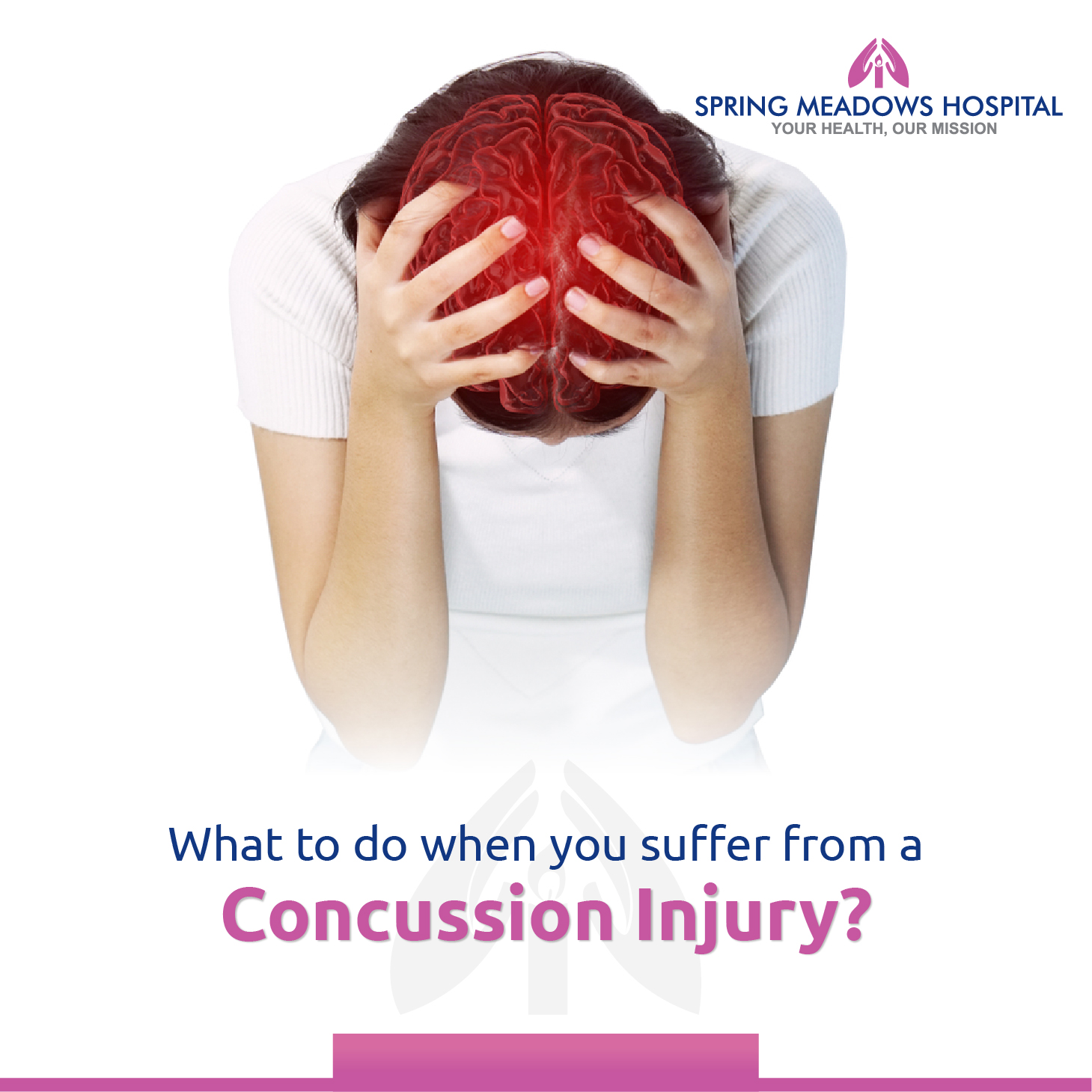 What to do when you suffer from a concussion injury?