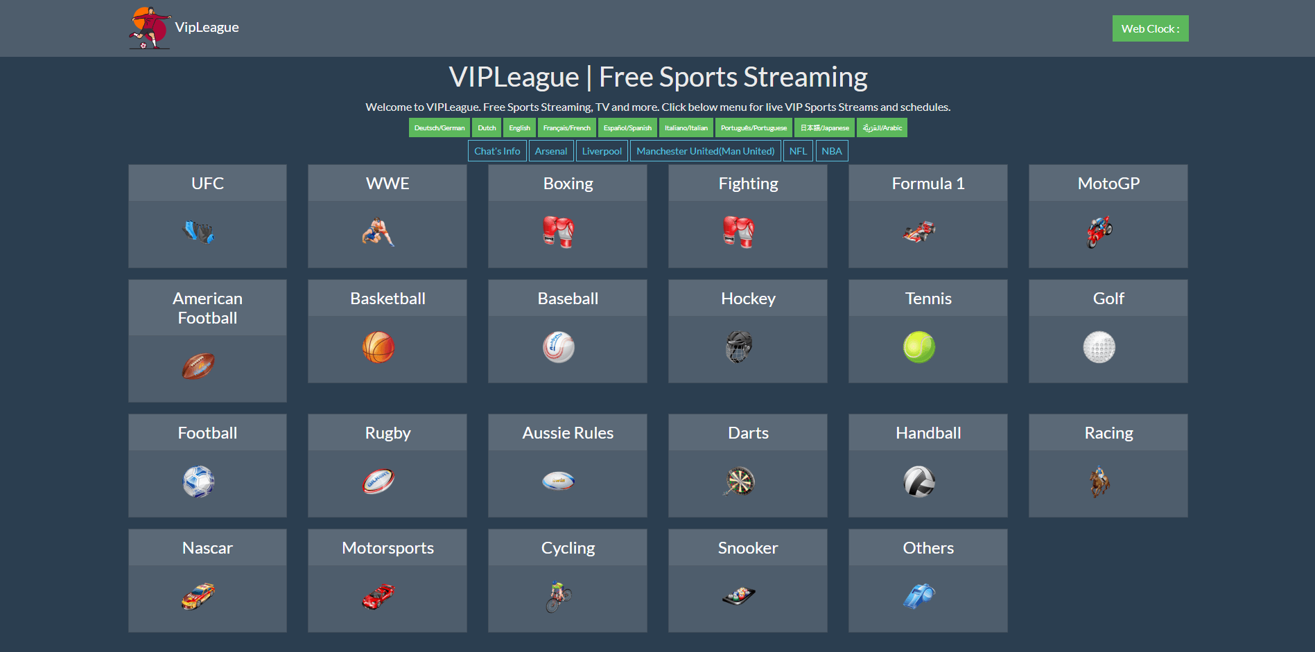 VIPLeague Alternatives | Watching Sports Online In HD Free