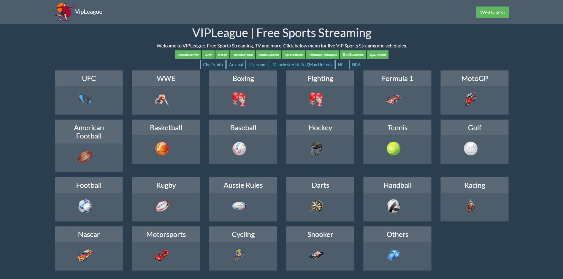 VIPLeague Alternatives | Watching Sports Online In HD Free